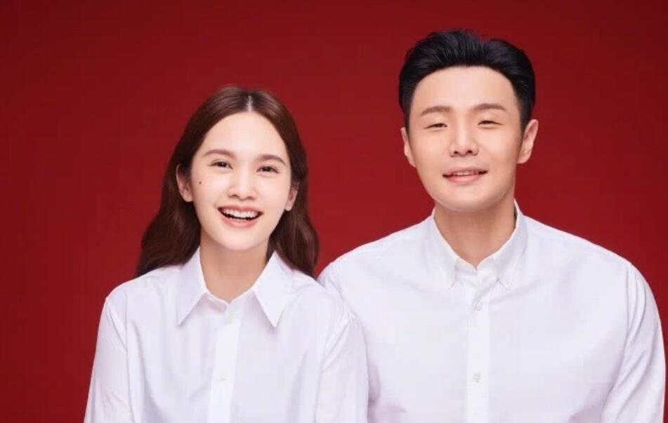 杨丞琳、李荣浩结婚照
