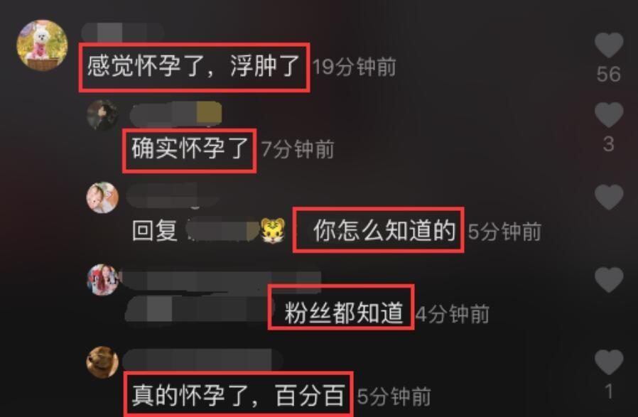 网友评论张子萱怀孕了