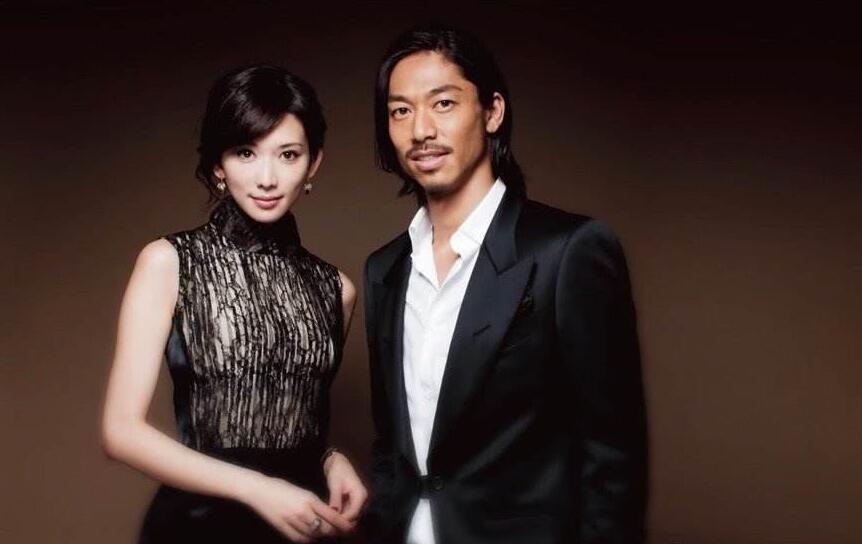 林志玲与老公照片