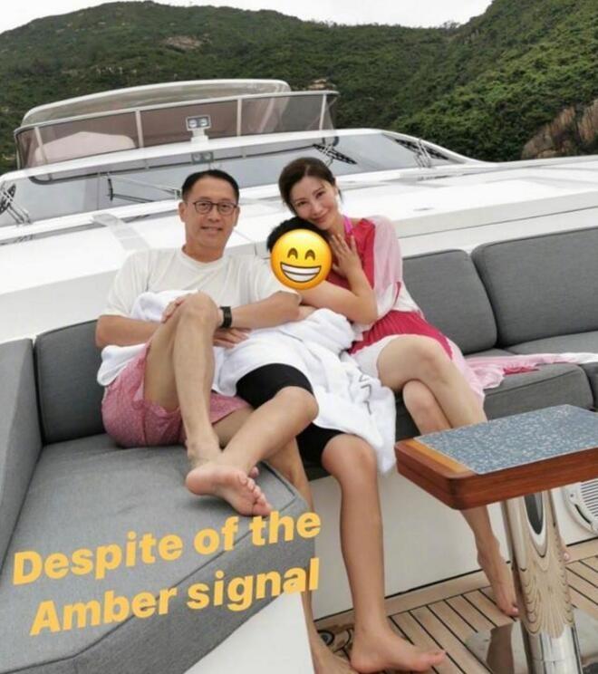 李嘉欣过亿游艇罕曝光