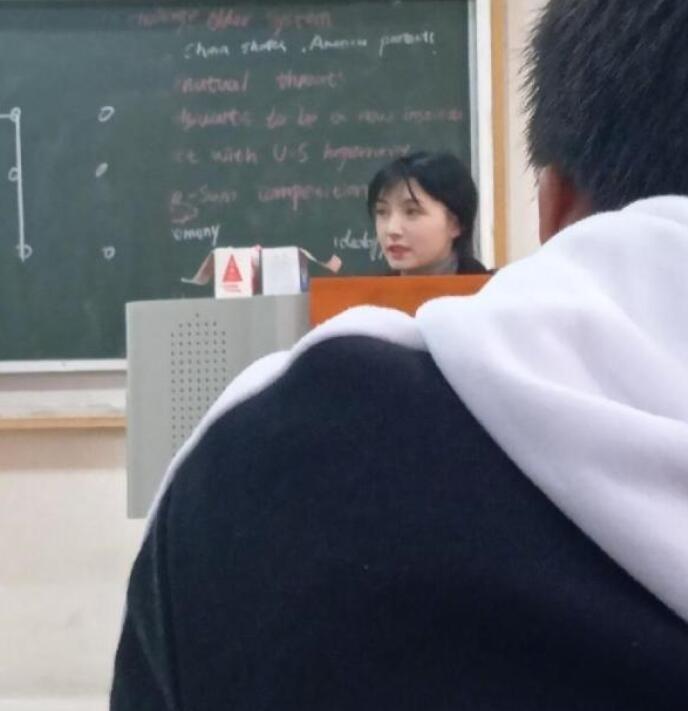 神仙美女老师照片