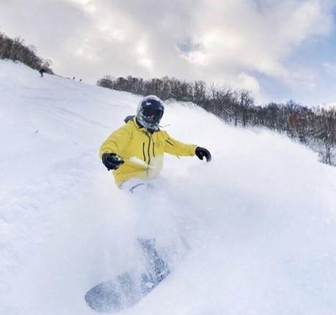 王思聪晒滑雪照